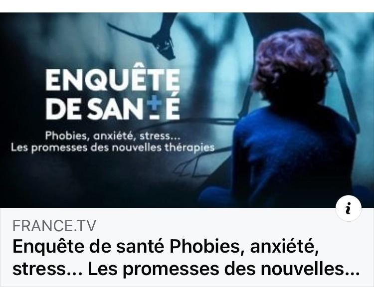 Enquête de santé, Phobies, anxiété, stress – Les promesses de L' HYPNOSE ,L' EMDR.