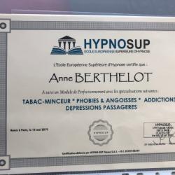Diplôme hypnothérapeute